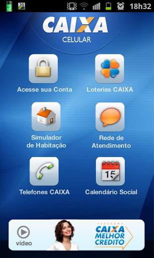 Simulador CAIXA - Celular Android - Google Play - iOS