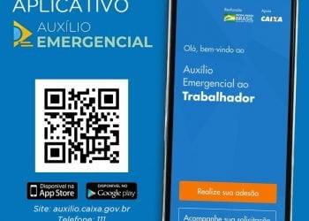 Trabalhadores informais já podem solicitar auxílio emergencial pelo aplicativo e site da Caixa Econômica Federal