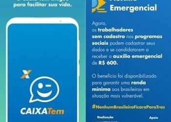 O Aplicativo CAIXA Tem está disponível para download nas lojas Android e iOS